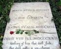 Shelley's grave, Testaccio, Rome