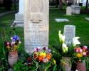 Keats' gravestone, Testaccio, Rome